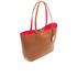 Lauren Ralph Lauren Women's Milford Olivia Tote Bag - Bourbon/Red: Image 3