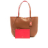 Lauren Ralph Lauren Women's Milford Olivia Tote Bag - Bourbon/Red: Image 7