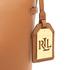 Lauren Ralph Lauren Women's Dryden Debby Drawstring Bag - Field Brown/Monarch Orange: Image 8