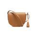 Lauren Ralph Lauren Women's Dryden Caley Mini Saddle Bag - Field Brown/Monarch Orange: Image 1