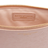 Aspinal of London Women's Essential Flat Embossed Flower Large Pouch - Peach: Image 6