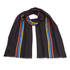Paul Smith Men's Central Stripe Wool Scarf - Navy: Image 1