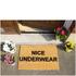 Nice Underwear Doormat: Image 2