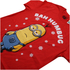 Despicable Me Men's Bah Humbug T-Shirt - Red: Image 4