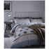 Catherine Lansfield Retro Bands Bedding Set - Teal: Image 1