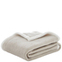 Catherine Lansfield Plain Sherpa Fleece Throw (125cm x 150cm): Image 5