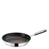 Jamie Oliver by Tefal Stainless Steel 2 Piece Frying Pan Set - 24cm & 28cm: Image 2