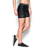Under Armour Women's HeatGear Armour 5 Inch Middy Shorts - Black: Image 3