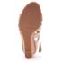 UGG Women's Yasmin Snake Tassle Leather Wedged Sandals - Horchata: Image 5