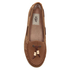 UGG Women's Suzette Nubuck Moccasin Shoes - Chestnut: Image 3