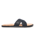 UGG Men's Ithan Cork Double Strap Leather Slide Sandals - Black: Image 1