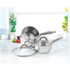 Salter Colour Collection Stainless Steel 3 Piece Pan Set: Image 2
