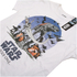 Star Wars Fight Scene Heren T-Shirt - Wit: Image 3