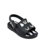 Mini Melissa Toddlers' Fabula Mia Sandals - Black: Image 3