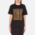 Alexander Wang Women's Bonded Barcode Boxy Crew Neck T-Shirt - Matrix: Image 1