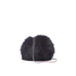 Diane von Furstenberg Women's Love Power Tipped Fox Puff Bag - Black: Image 1