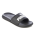 Puma Popcat Slide Sandals - Black/Black/White: Image 2