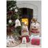 Parlane Moose Jute Christmas Sack - Red (50 x 30cm): Image 2