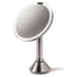 simplehuman Rechargeable Stainless Steel Sensor Mirror - 5x Magnification 20cm: Image 2