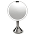 simplehuman Rechargeable Stainless Steel Sensor Mirror - 5x Magnification 20cm: Image 1