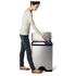 Poubelle de recyclage rectangulaire Simplehuman 46l -Clair: Image 3
