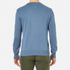 Garbstore Men's Stonewall Crew Knitted Jumper - Blue: Image 3