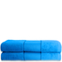 Restmor 100% Cotton 2 Pack Bath Sheets - Teal: Image 1