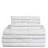 Restmor 100% Cotton 8 Piece Towel Bale Set - White: Image 1