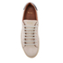 Paul Smith Men's Basso Leather Court Trainers - Quiet White: Image 3