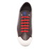 PS by Paul Smith Men's Colston Leather Court Trainers - Dark Grey Washed: Image 3