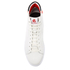 PS by Paul Smith Men's Shima Hi-Top Trainers - White Mono: Image 3