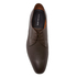 PS by Paul Smith Men's Leo Leather Plain Derby Shoes - Dark Brown: Image 3