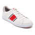 PS by Paul Smith Men's Lawn Stripe Trainers - White Mono Lux: Image 2