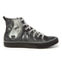 Spiral Men's Wolf Chi High Top Lace Up Sneakers - Black: Image 1