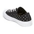 Converse Women's Chuck Taylor All Star II Ox Trainers - Black/White: Image 4