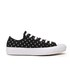 Converse Women's Chuck Taylor All Star II Ox Trainers - Black/White: Image 1