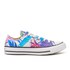 Converse Women's Chuck Taylor All Star Ox Trainers - Fresh Cyan/Magenta Glow/White: Image 1