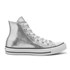 Converse Women's Chuck Taylor All Star Hi-Top Trainers - Silver/Black/White: Image 1