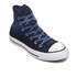 Converse Chuck Taylor All Star Hi-Top Trainers - Obsidian/Black/White: Image 2