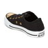 Converse Women's Chuck Taylor All Star Ox Trainers - Black/Gold/White: Image 4
