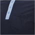 Brave Soul Men's Mozi Jersey Polo Shirt - Dark Navy/Sky Blue: Image 3