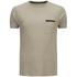 Brave Soul Men's Faustian Zip Pocket T-Shirt - Mushroom: Image 1