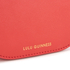 Lulu Guinness Women's Small Smooth Leather Amy Cross Body Bag - Coral: Image 6