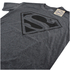 DC Comics Men's Superman Mono T-Shirt - Dark Heather: Image 3