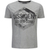 Dissident Men's Scarab T-Shirt - Light Grey Marl: Image 1