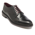 Ted Baker Men's Aokii Burnished Leather Toe Cap Derby Shoes - Black: Image 2