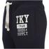 Tokyo Laundry Men's Hunters Peak Sweatpants - Navy Marl: Image 3