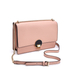 Vivienne Westwood Women's Opio Saffiano Leather Large Fold Over Shoulder Bag - Pink: Image 3
