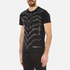 Versace Jeans Men's Studded Wave Detail T-Shirt - Black: Image 2