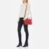 Lauren Ralph Lauren Women's Raquel Messenger Bag - Fiery Red: Image 2